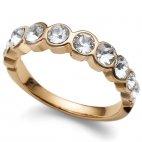 Prsteň s krištáľmi Swarovski Oliver Weber Horizon Gold 41004 0d77256abb5
