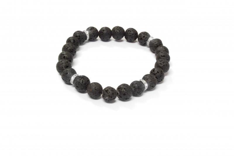 da7612248 Pánsky náramok s krištálmi Swarovski Oliver Weber Beads crystal ...
