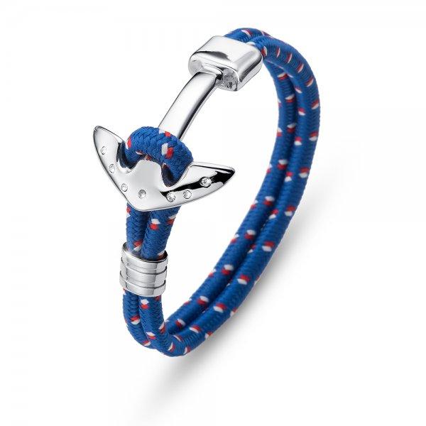 25bd6d1bc 67023 blue Pánsky náramok s krištálmi Swarovski Oliver Weber Anchor ...