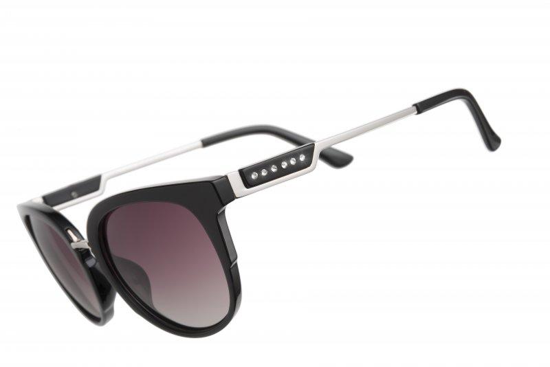 bf2b1d4ef Slnečné okuliare s krištálmi Swarovski Oliver Weber Santiago black