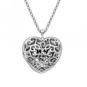 Prívesok Hot Diamonds Large Heart Filigree Locket DP669